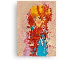 Pretty doll Canvas Print