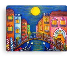 Moonlit Venice Canvas Print