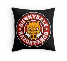 Sunnydale Razorfangs Throw Pillow