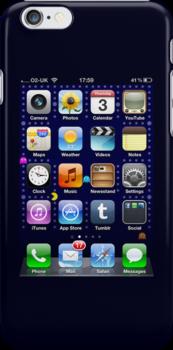 iPhone screen by NuclearJawa