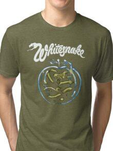 WHITE SNAKE Tri-blend T-Shirt