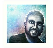 Ariel Helwani Art Print