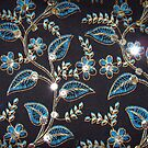 Pattern of flowers by Bindu-Juneja