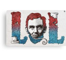 Lincolnage Canvas Print