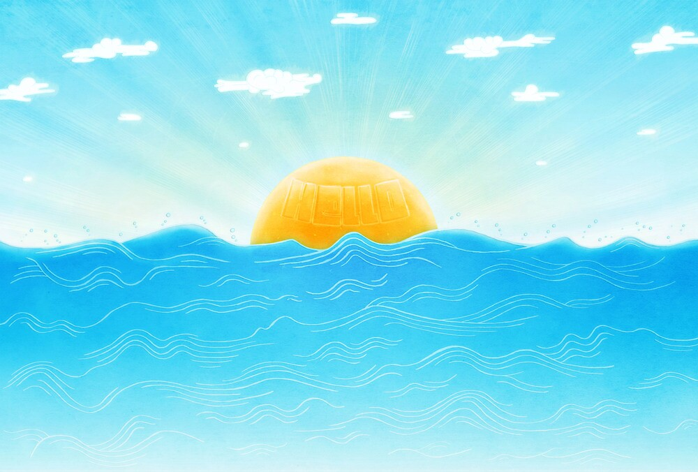 Hello Sunwaves by domencolja