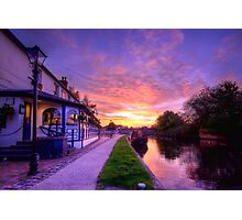 The Boat Inn Sunrise Photographic Print