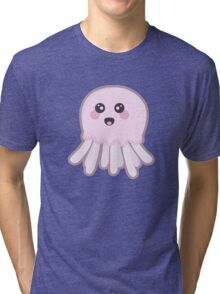 Kawaii Jellyfish Tri-blend T-Shirt