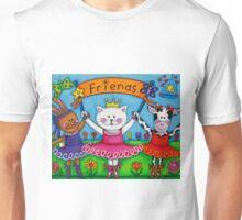 Ballerina Friends Unisex T-Shirt