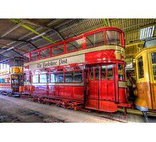 Yorkshire Post Tram Photographic Print