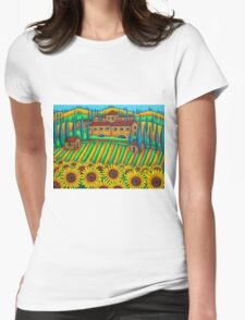 Colours of Tuscany Womens Fitted T-Shirt