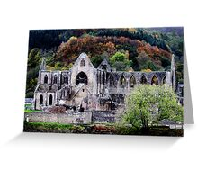 Autumn At Tintern Abbey  Greeting Card