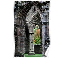 Autumn View - Tintern Abbey Poster