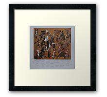 Hickstead Derby Winners 1961-1995 Framed Print