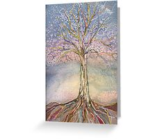 Puzzle Tree Greeting Card