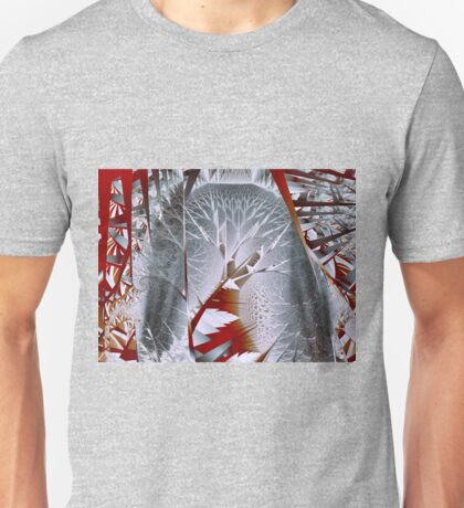 Trees I: Silvery Forest Unisex T-Shirt