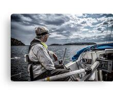 Cruising The Stockholm Archipelago Canvas Print