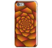 Orange Ball Spiral iPhone Case/Skin