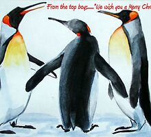 Singing Penguins by Carole Russell