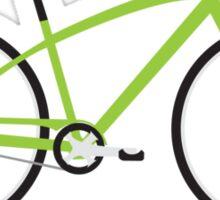 I Ride Bike Sticker