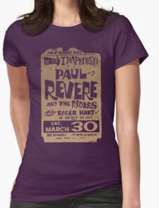 PAUL REVERE Womens Fitted T-Shirt