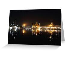 Golden Temple,Amritsar. Greeting Card