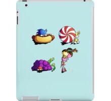 Sonic team + favorite foods iPad Case/Skin