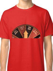 Scott Pilgrim's wheel of indecision Classic T-Shirt
