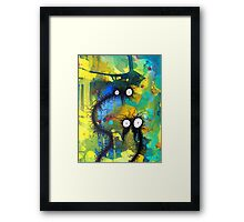 The creatures from the drain 24 Framed Print