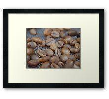 The Golden Beans Framed Print