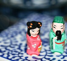 Japanese figures by Fizzgig7