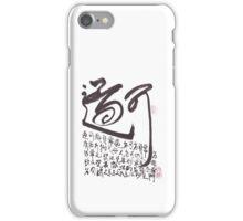 Dao 01 iPhone Case/Skin