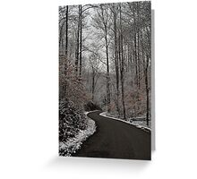 The Long Road Home Greeting Card
