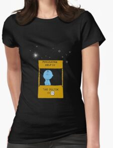 Dr. Brown Womens Fitted T-Shirt
