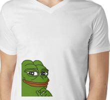 Pepe the frog  Mens V-Neck T-Shirt