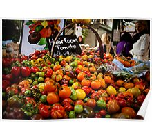 Tomatoes at the Borough Market Poster