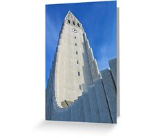 Icelandic church Greeting Card