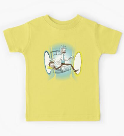 Rick and Porty - shirt phone and ipad case Kids Tee