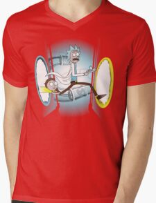 Rick and Porty - shirt phone and ipad case Mens V-Neck T-Shirt