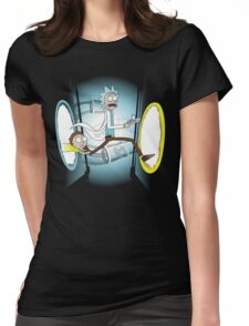 Rick and Porty - shirt phone and ipad case Womens Fitted T-Shirt
