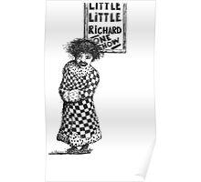 little little richard Poster