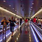 Barcelona Underground by Frank Bibbins