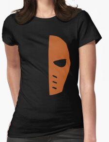 Deathstroke Mask – Slade Wilson, Arrow, Batman Womens Fitted T-Shirt