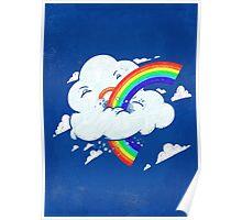 Cloud Hates Rainbow Poster