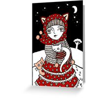 Lumi Kisut Greeting Card