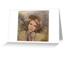 "The touch of an angel (""Angels"" series) Greeting Card"