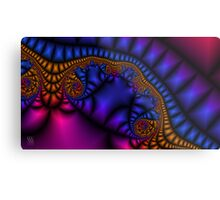Jeweled Ribbon Metal Print