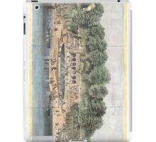 Bethesda Terrace Central Park Vintage Artwork iPad Case/Skin