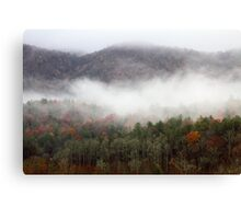 Morning In The Smokies Canvas Print