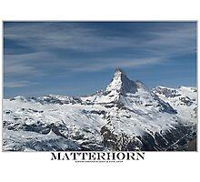 matterhorn Photographic Print