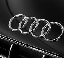 Audi Emblem by AndrewBerry